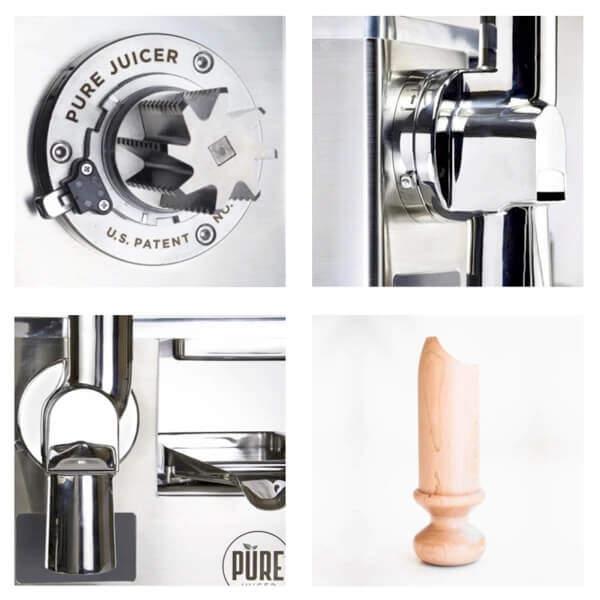 PURE Juicer parts